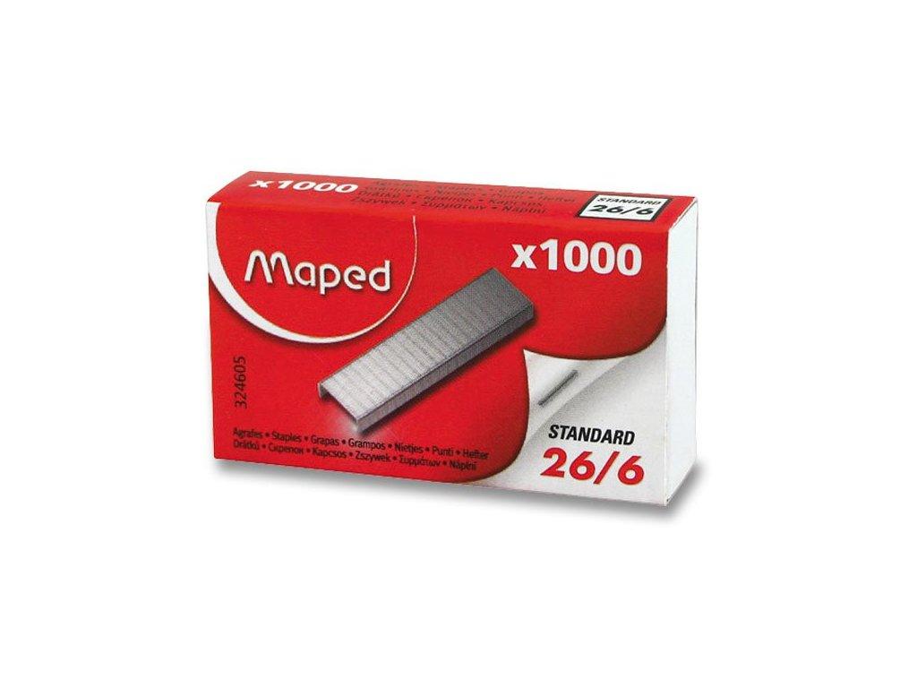 Drátky Maped 26/6 1000 ks