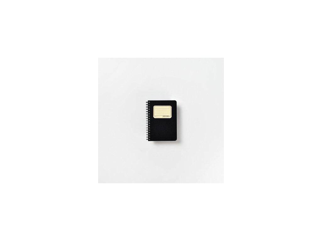 BOBO poznámkový blok Retro A6 čtverečkovaný