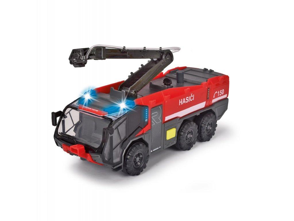 Letištní hasičské auto 24 cm česká verze