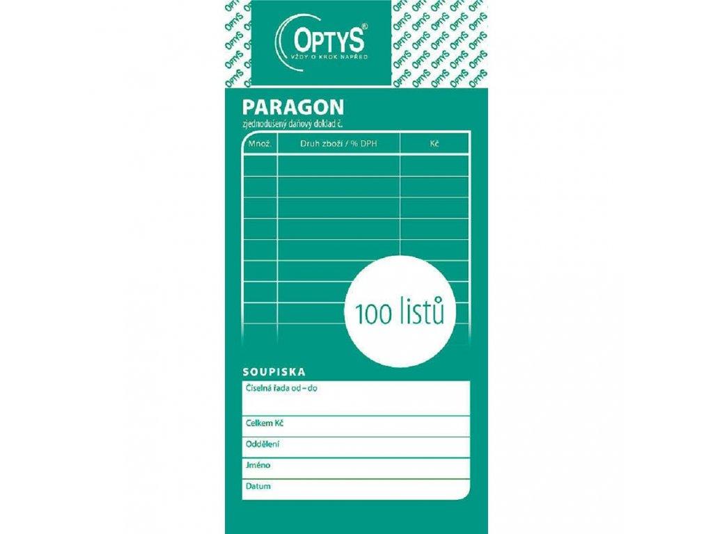 Paragon obchodní, 100 listů - 1070