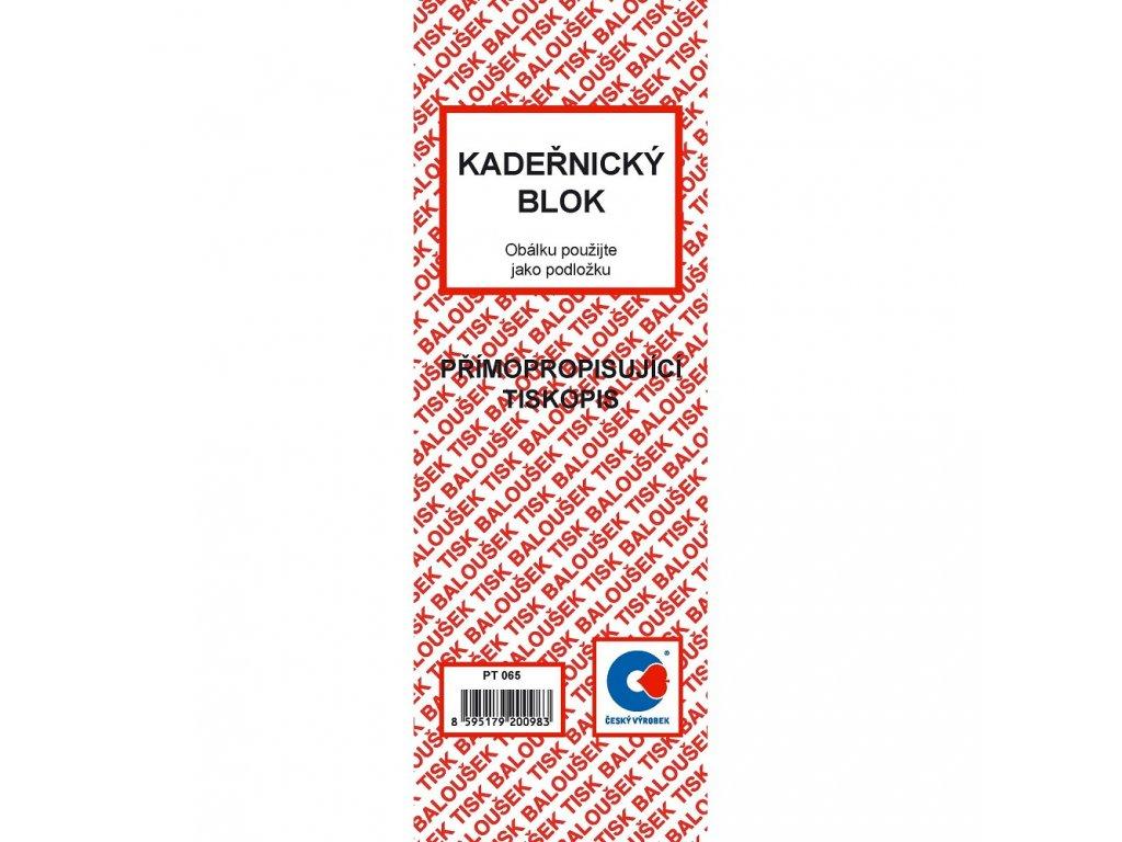 Kadeřnický blok - PT065