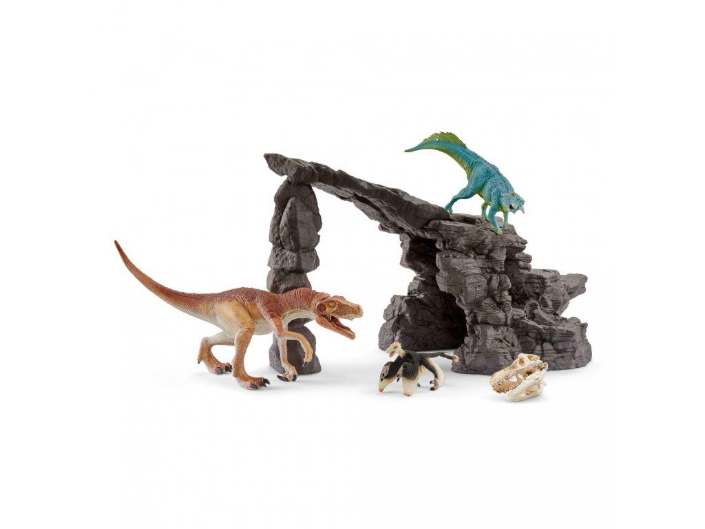 Jeskyně s dinosaury