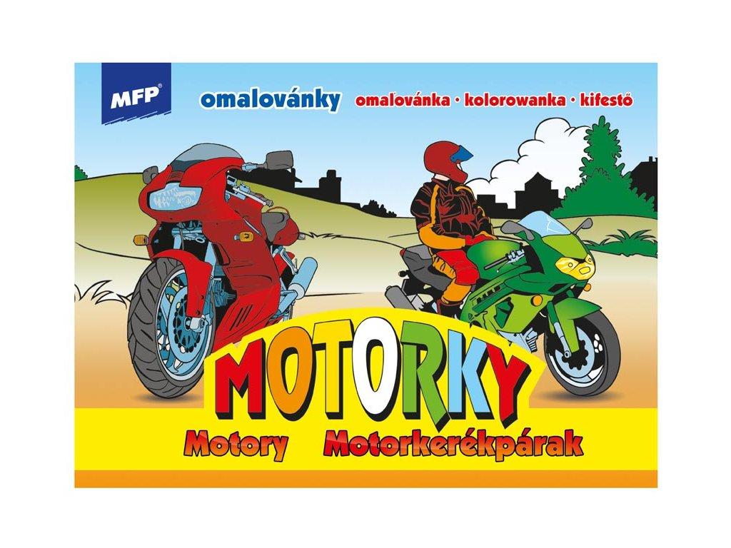 Omalovánky Motorky