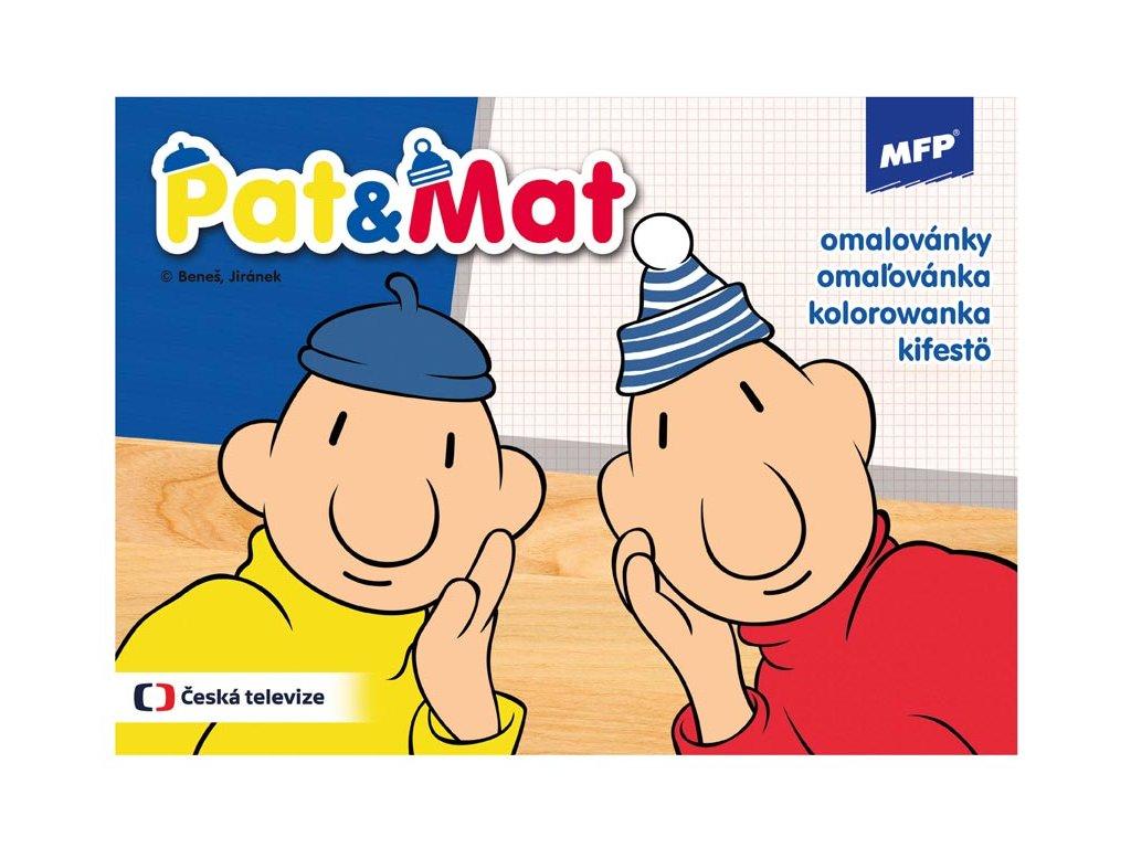 Omalovánky Pat a Mat