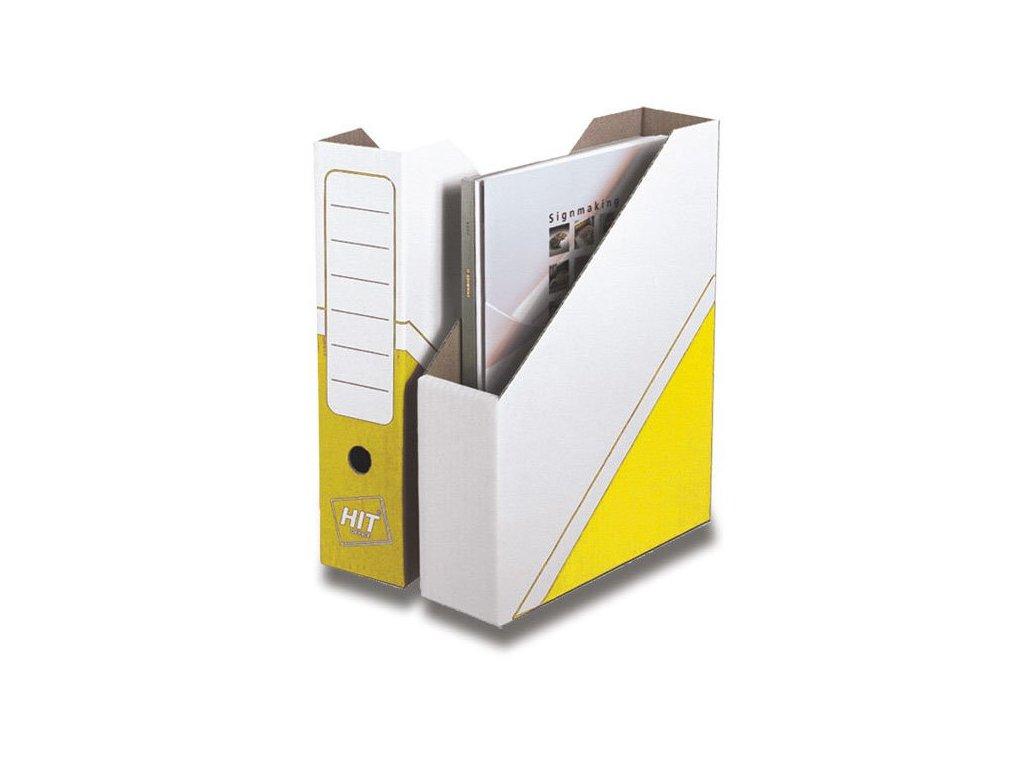 Magazin box Hit Office - archivační box žlutý