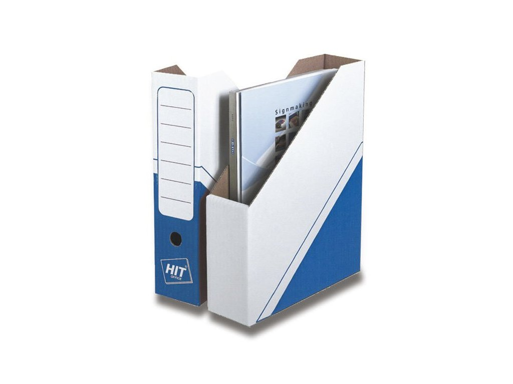 Magazin box Hit Office - archivační box modrý