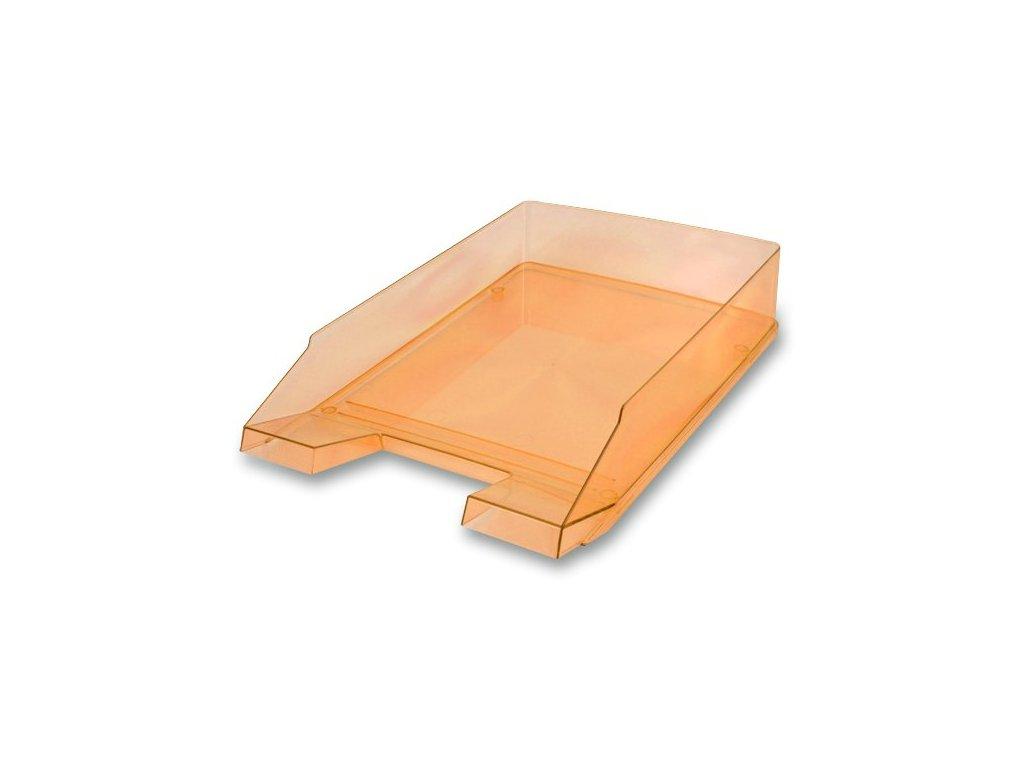 Odkladač Economy Transparent oranžový