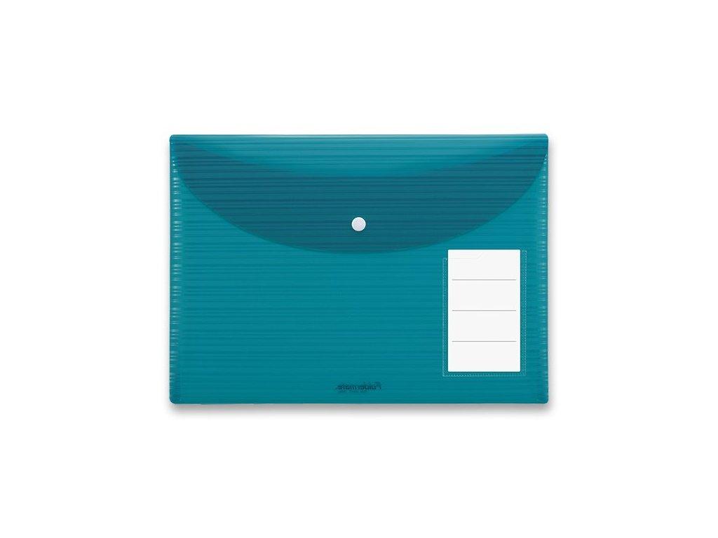 Spisovka s drukem Foldermate iWork modrozelená, A4