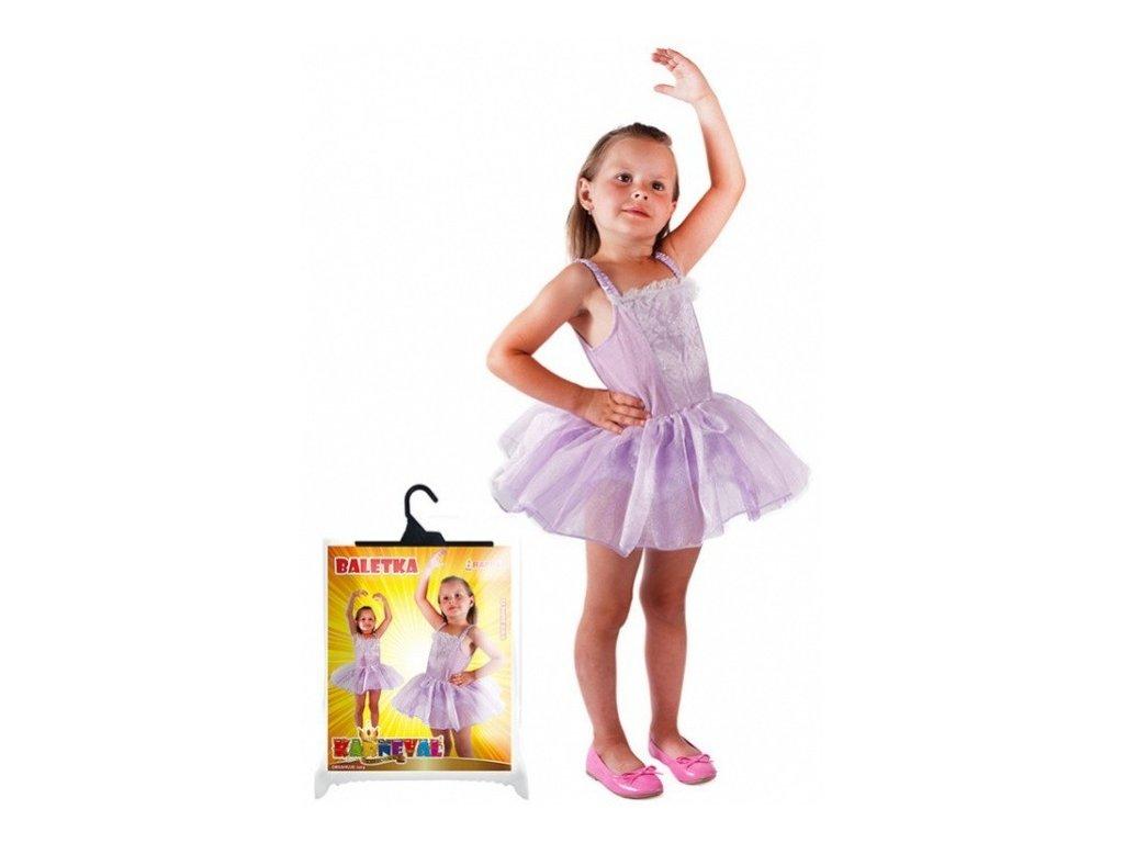 Baletka - dětský kostým