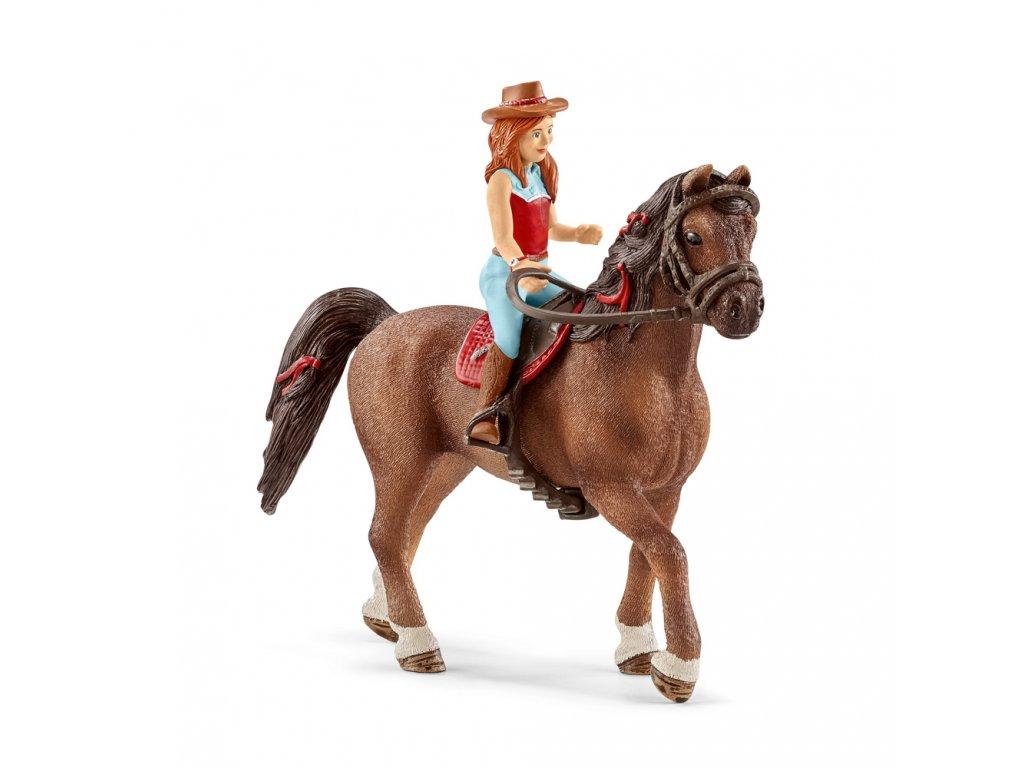Zrzka Hannah a kůň Cayenne