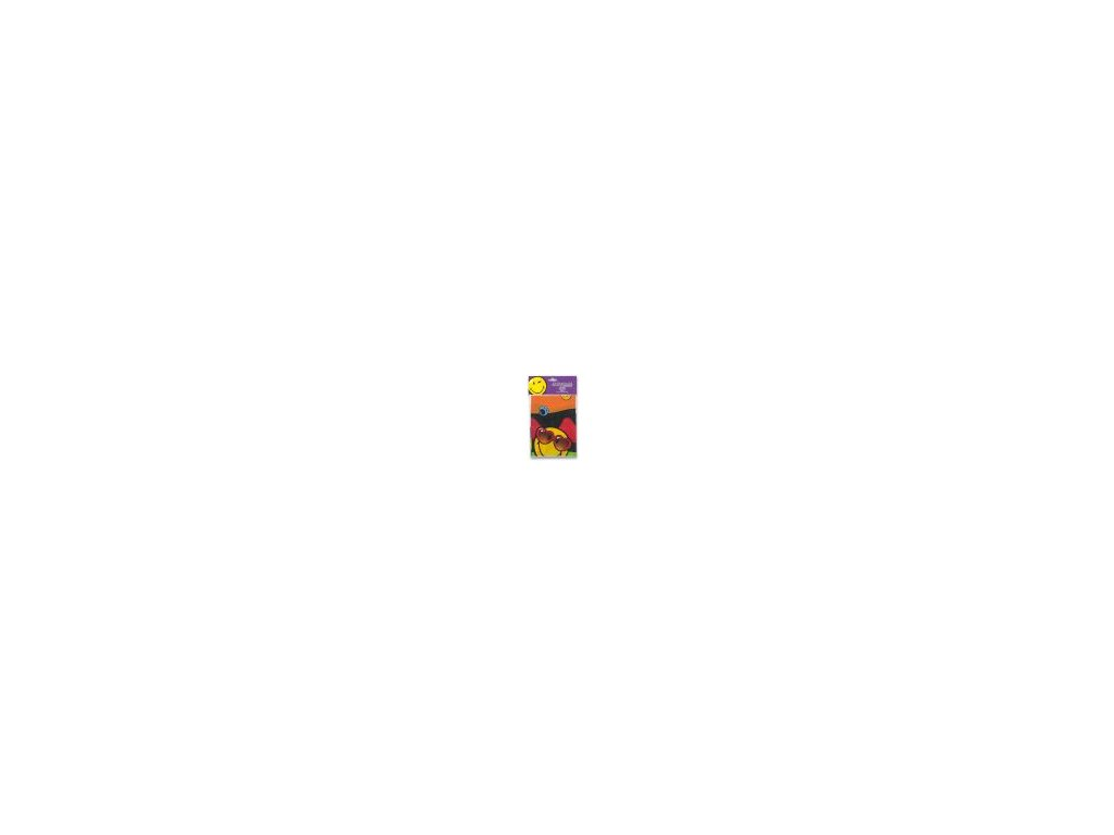 Plastový ubrus Smajlík (120x180cm)