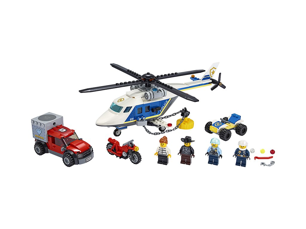 CITY Pronásledování s policejní helikoptérou