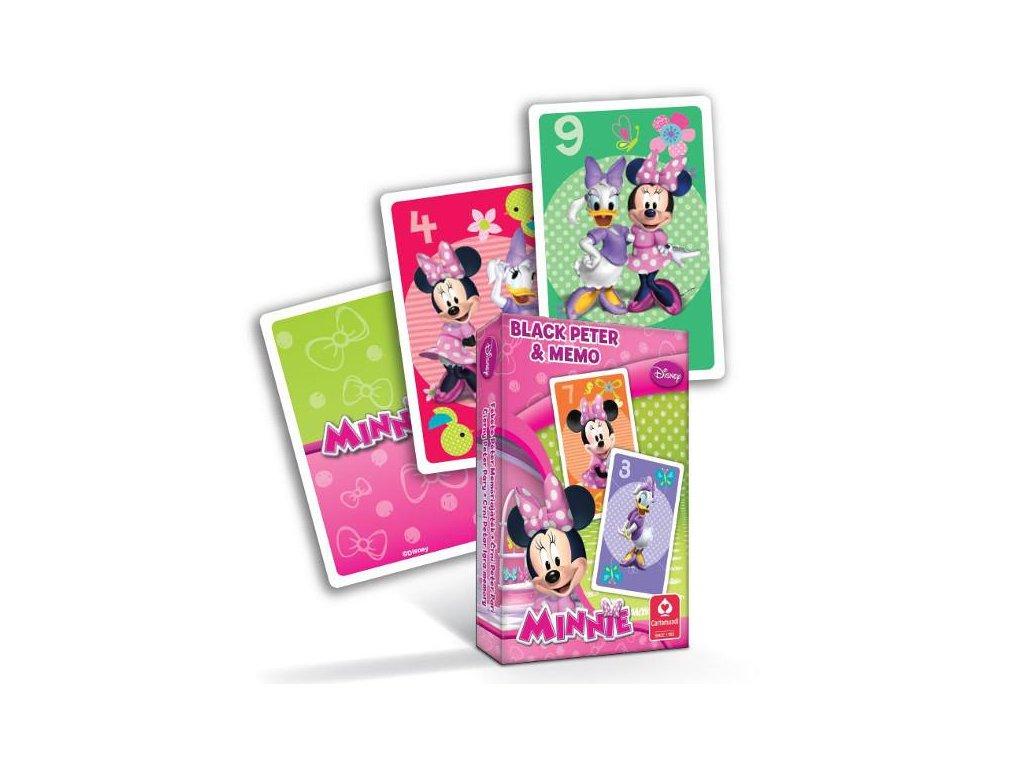 karty Černý Petr - Minnie
