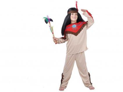 Kostým na karneval - Indián, 120-130 cm