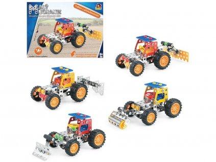 Malý mechanik-Traktor s nástrojem 4 druhy