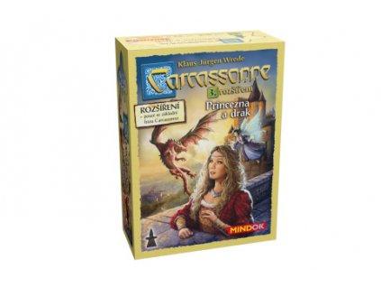Carcassonne 3. rozšíření Princezna a drak