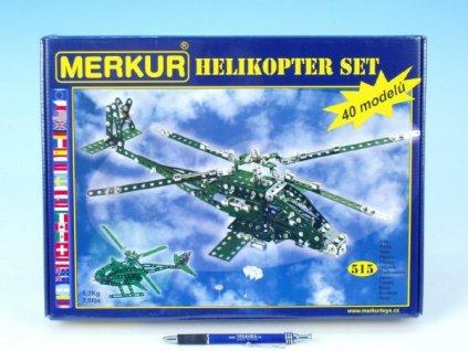 Merkur Helikopter Set, 515 dílů, 40 modelů
