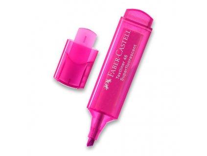 Zvýrazňovač Faber-Castell Textliner 1546 růžový