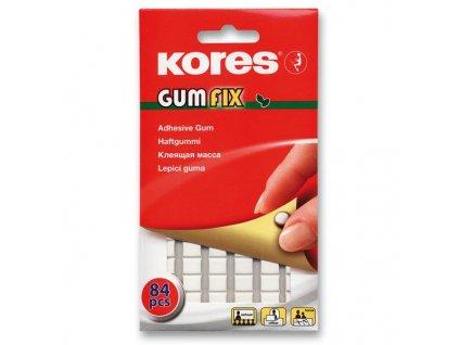 Lepicí guma Kores Gumfix 50 g, 84 kusů