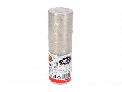 Lepící páska 18mm x 20m průhledná