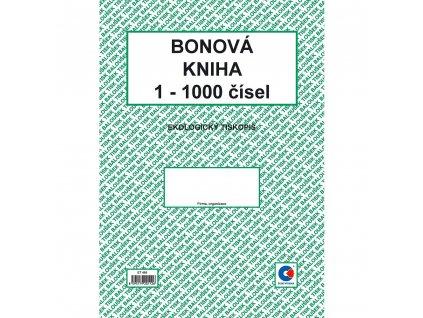 Bonová kniha A4 - ET400