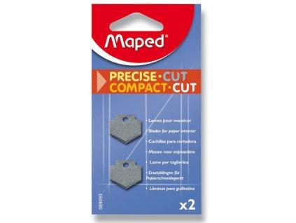 Náhradní břity pro řezačku Maped Compact Cut 2 ks