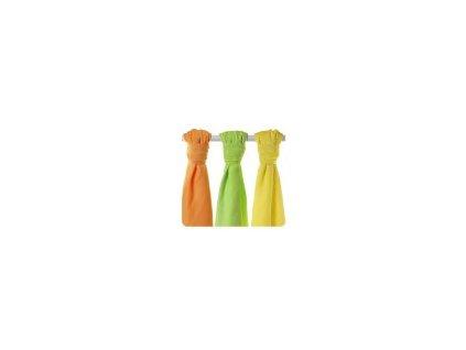 27914 2 detske pleny xkko bmb colours bambusove 70 x 70 cm mix 3 kusy colours