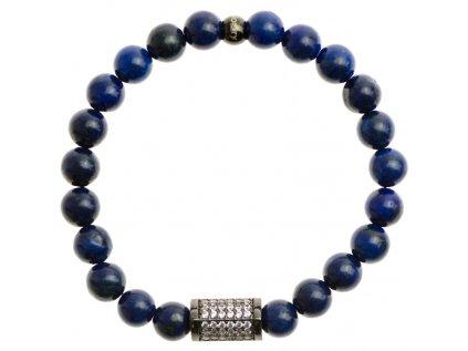 zirkonovy kvader 8mm lapis lazuli