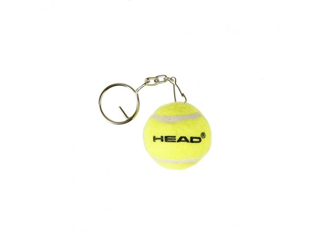 Klíčenka Head Mini Tennis Ball žlutá