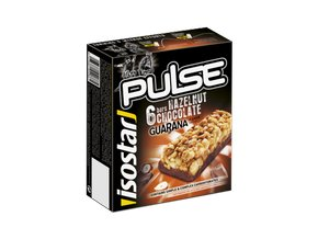 Isostar 6x23g bar PULSE Hazelnut chocolate