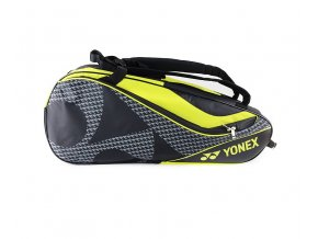 BAG NA DEVĚT RAKET YONEX 8729 BLACK/ACID YELLOW