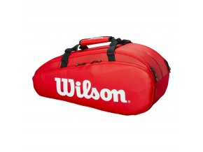 Bag na rakety Wilson TOUR 2 Comp Large, Red 2019
