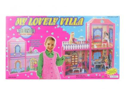 Domek pro panenky menší