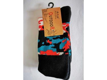 Ponožky s maskáčovým vzorem