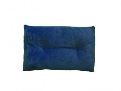 Modrý polštář - 60x40 cm