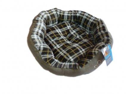Šedý psí pelech - 45x40 cm