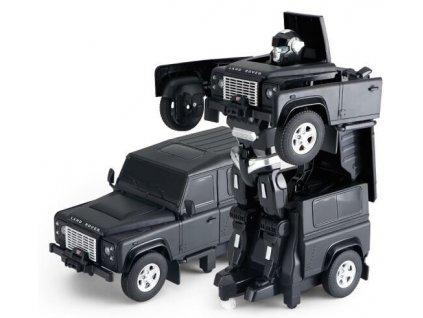 Land Rover Transformer 1:14 2.4GHz RTR - černý