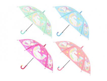 Deštník s jednorožci
