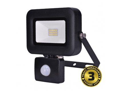 Solight LED reflektor PRO se senzorem, 10W, 850lm, 5000K, IP44