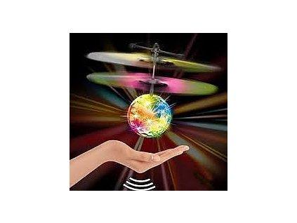 Létající disko koule reagující na ruku