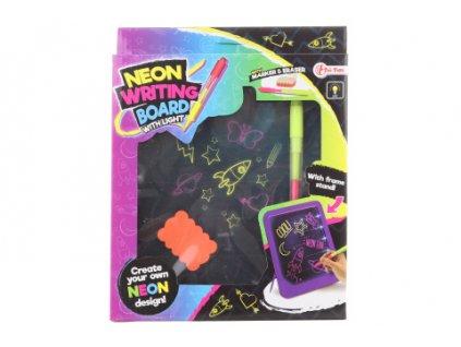 Neonová kreslící tabulka