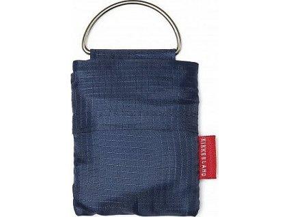 Nákupní taška - klíčenka - Modrá
