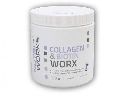 Collagen & Biotin Worx 250g