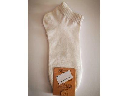 Jednobarevné letní ponožky