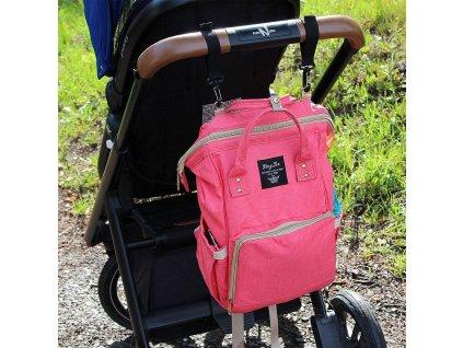 Batoh pro maminky - růžový