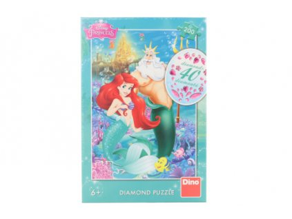 Puzzle Ariel diamond 200 dílků
