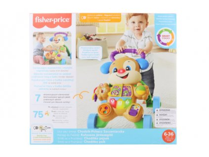 Fisher-Price Laugh and learn Chodítko pejsek GXR71 TV 1.9.-31.12