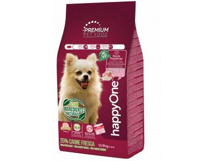 HappyOne Premium Dog Small Breeds - Fresh Meat 4 kg