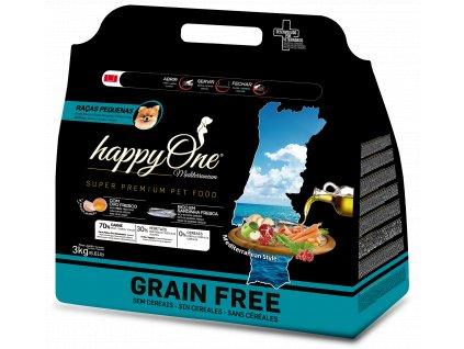 HappyOne Mediterraneum Small Breed Sardine 3 kg