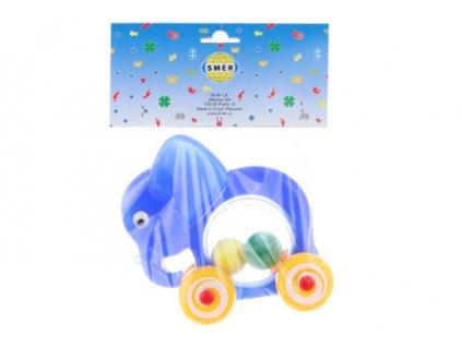 Slon s míčky